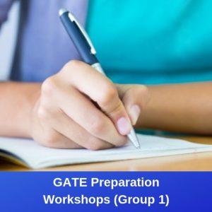 GATE Preparation Workshops (Group 1)