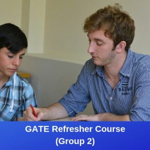 GATE Refresher (Group 2)