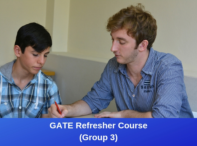 GATE Refresher Course Group 3