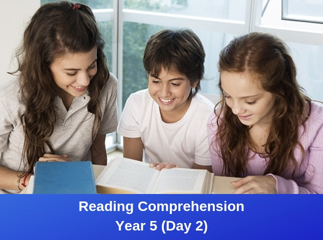 GATE Reading Comprehension Year 5