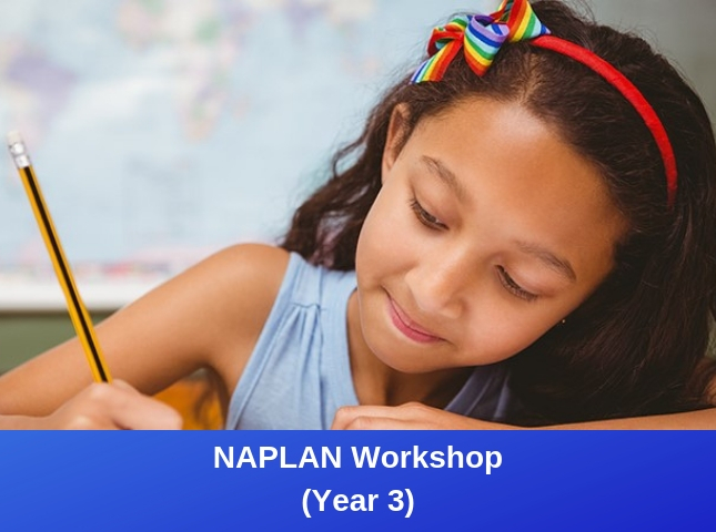 Year 3 NAPLAN Workshop