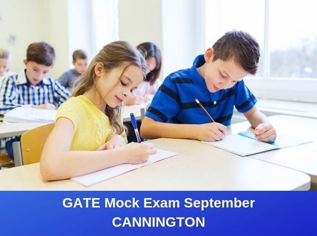 GATE Mock Exam September – Cannington
