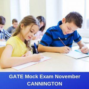 GATE Mock Exam November – Cannington