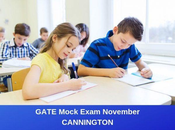 GATE Mock Exam Nov Cannington
